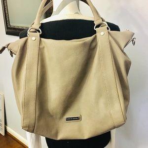 HUGE Steve Madden Taupe Handbag